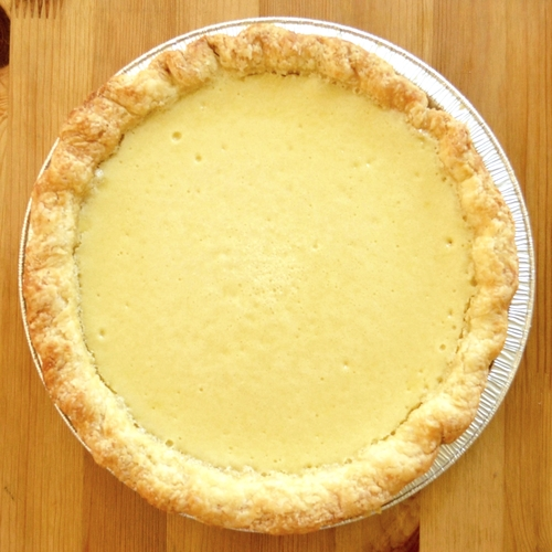 Meyer Lemon Chess Pie Recipe — Dishmaps