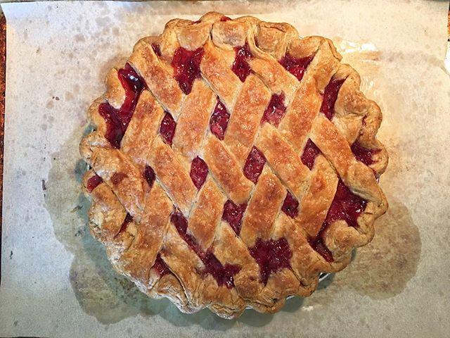 #cherrypie #🍒pie #pie #dessert #madefromscratch