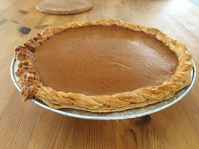 Hope everyone has a happy Thanksgiving! Due to some personal life changes we were only able to accommodate limited orders this year. We will remained closed for the rest of the year and reopen business in the spring. Thanks for your support! .............................................................................................................................................................#piesgiving #thanksgiving #pie #pumpkinpie #applepie #pecanpie #yumyum #whatsfordessert #pieday