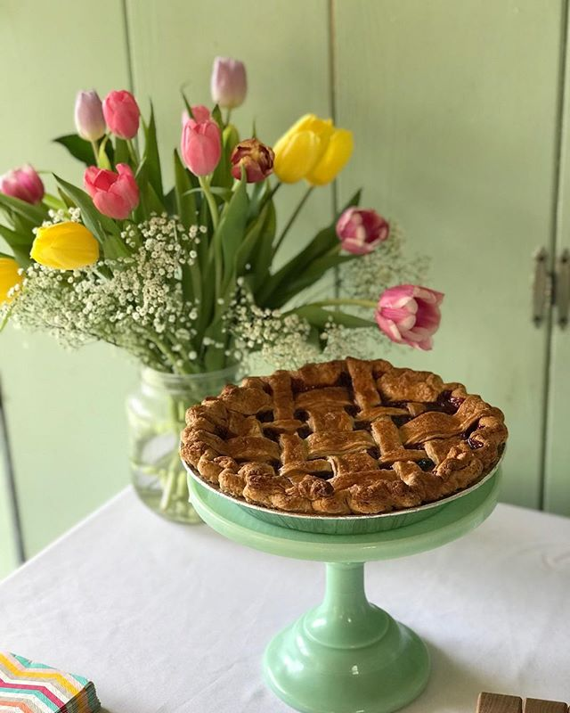 Feels like spring #pie
