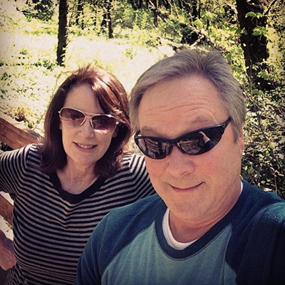 When Kraig is not indoors making photos of beautiful homes, he's outdoors enjoying a hike with his wife, Paula.