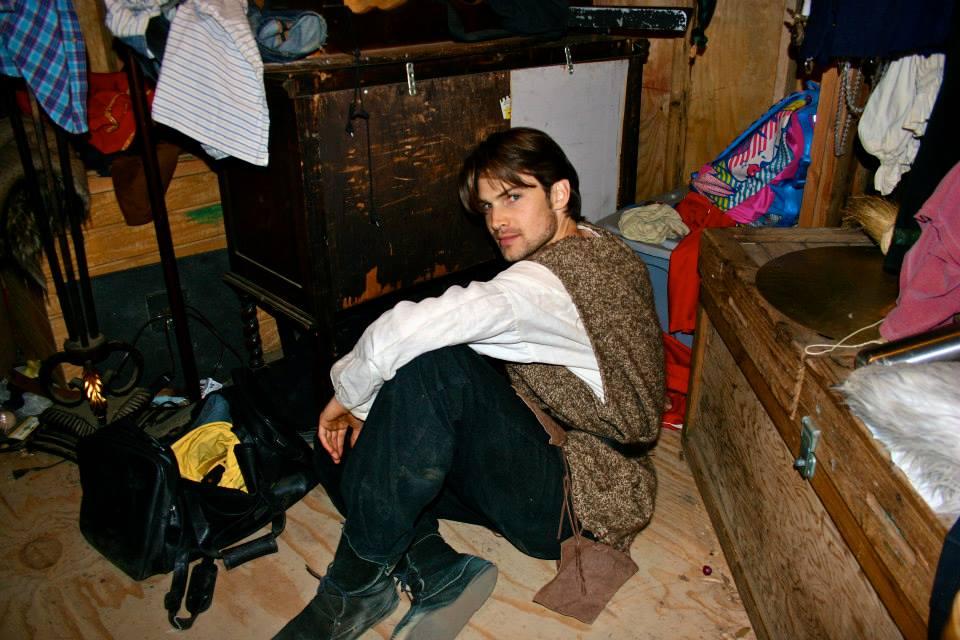 """Backstage of """"Merlin"""""""