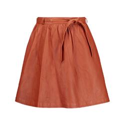 Maje Leather Skirt