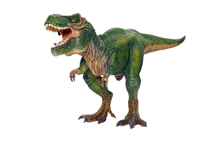 2012 SchleichTyrannosaurus with movable jaw.png