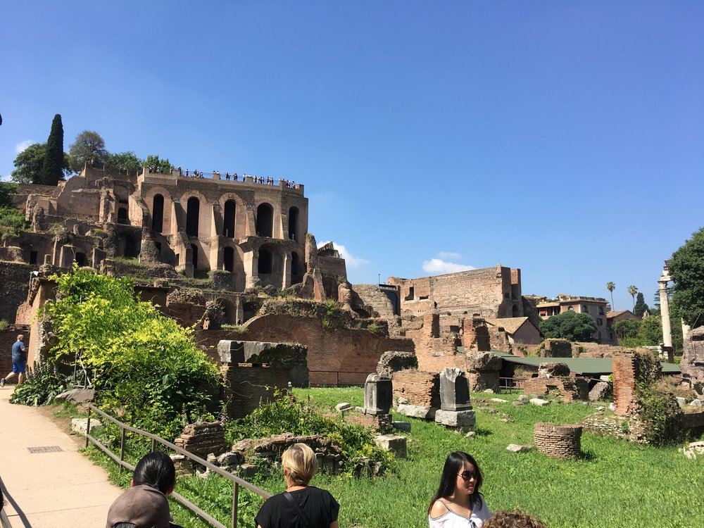 Another view in the Roman Forum.