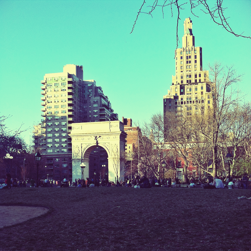 {Washington Square Park}