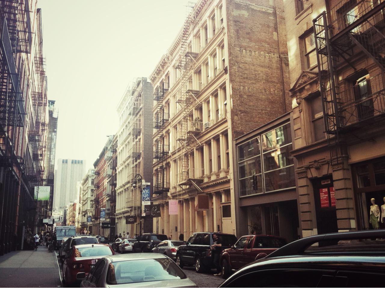 {Mercer Street, SoHo}