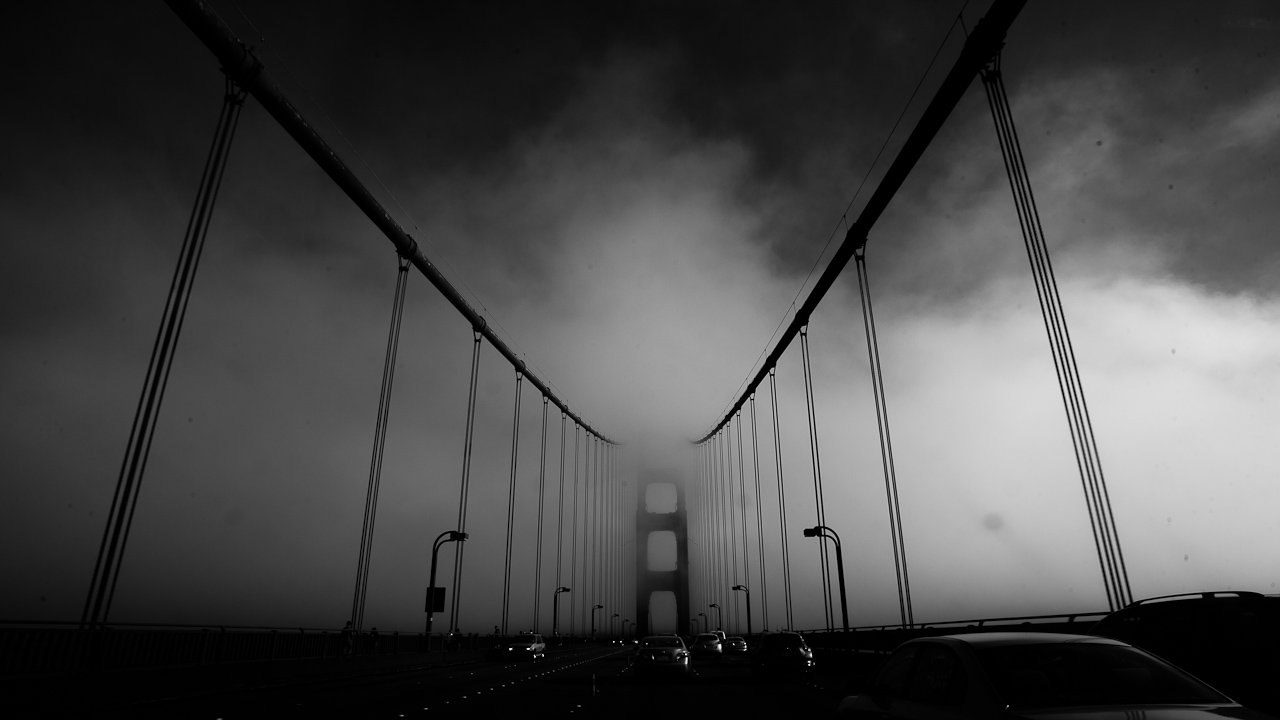 Chris New, 2012.    Golden Gate Bridge
