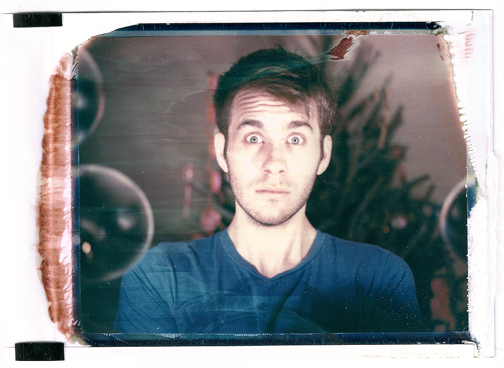 me, a polaroid by my friend James Sakalian, III