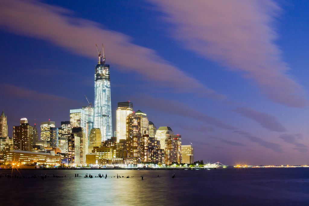 One World Trade Center October 2012 Update #2 (by RBudhu) An awesome city to call home.