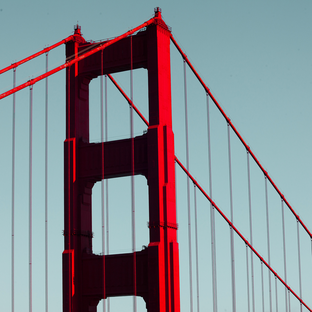 Golden Gate Bridge, San Francisco, California.    Chris New, 2012.