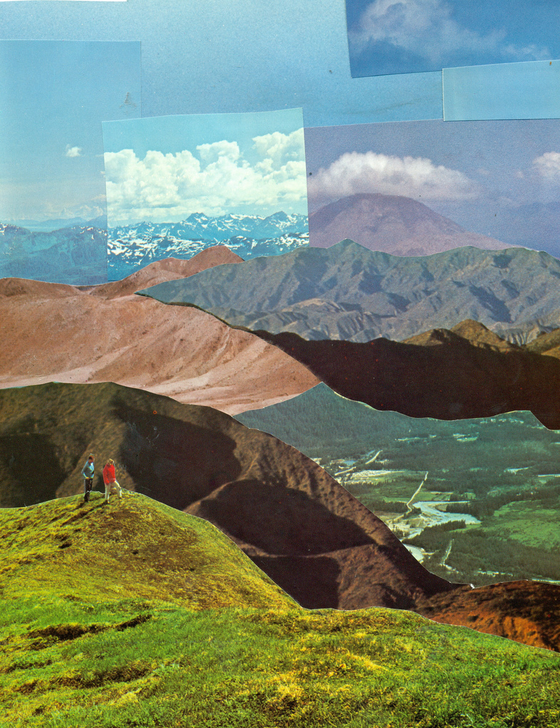 "thecollectivecollage: ""Landscapes"" by captain deepthoughts"