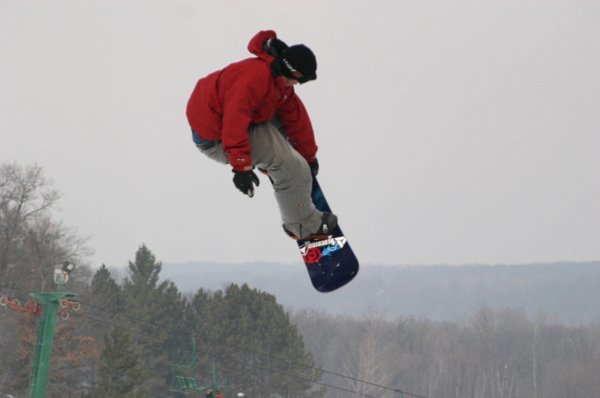 Chad Otterstrom, 1st year of Academy Snowboard Camps at Wild Mountain, MN.