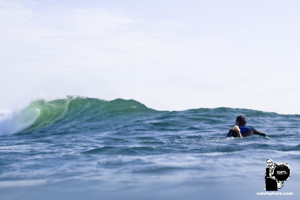 Keith checking out mini tubes at Monster Hole.