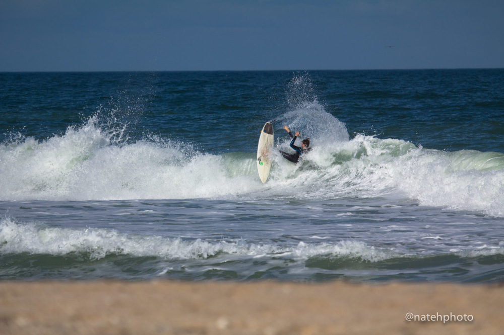 Nathan coming undone on a fins free attack.