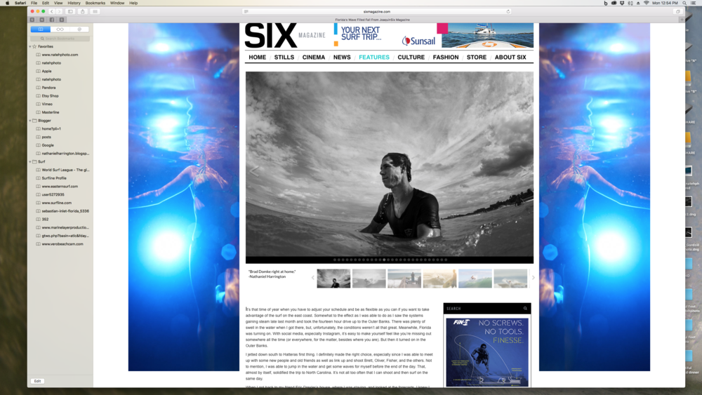 Portrait of Brad Domke on SixMagazine.com