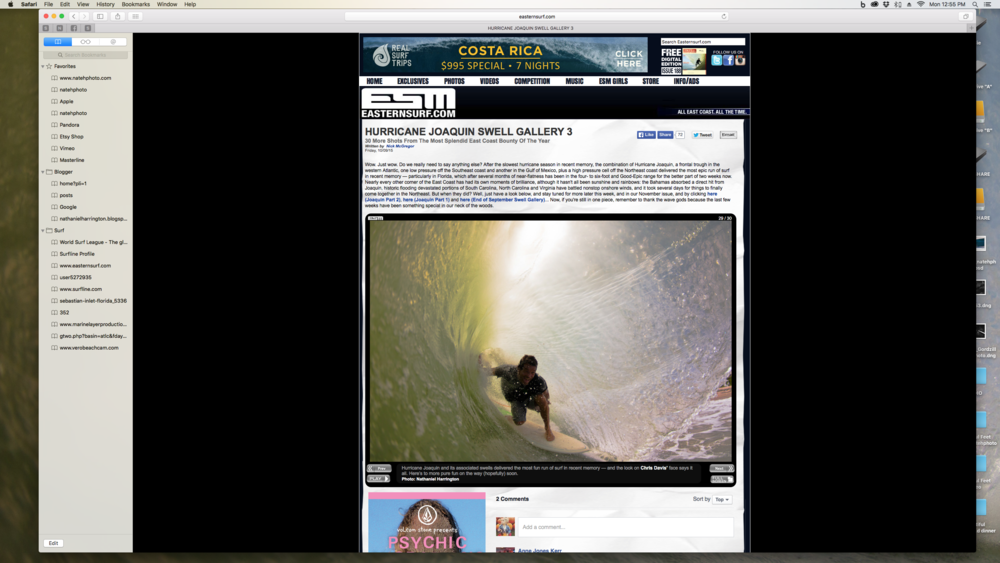 Chris Davis in a gem! This was featured on EasternSurf.com (ESM)