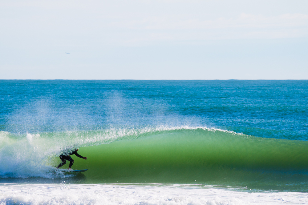 Brock Taylor practicing barrel rides for an upcoming trip to Central America.