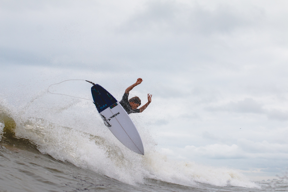 Small but fun enough, Daniel Glenn can make the most out of days like this.
