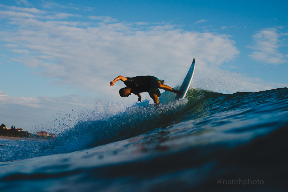 Chauncey Robinson at Spanish House, Florida. Surf Photography by Nathaniel Harrington