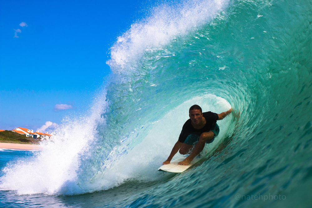 Chauncey Robinson finding that rare gem, one of the better barrels we have linked up on in this spot.