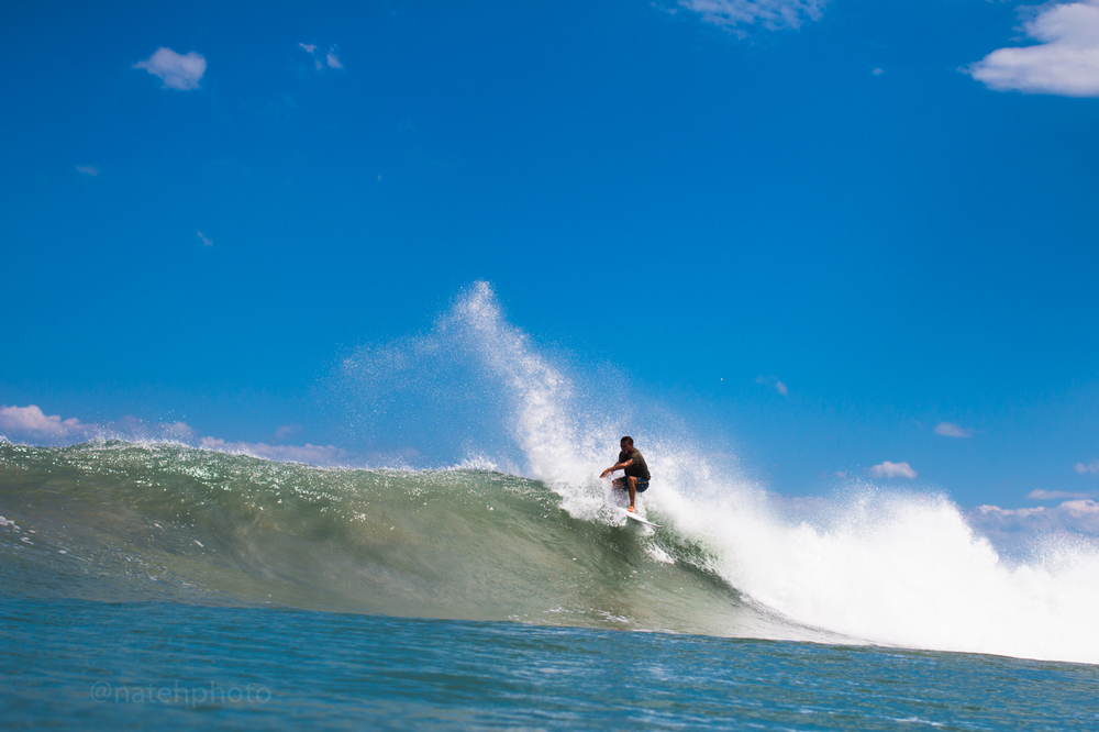 Wiley Robinson Surfing at Sebastian Inlet, Photography by Nathaniel Harrington