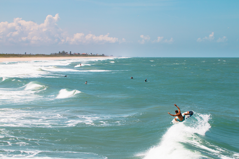 Chauncey Robinson at Sebastian Inlet, photos by Nathaniel Harrington