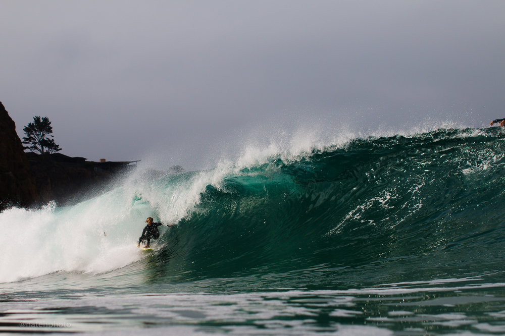 Matthew Glenn on a bomb at a sort of secret spot... This has been one of the better session of my stay so far in CA.