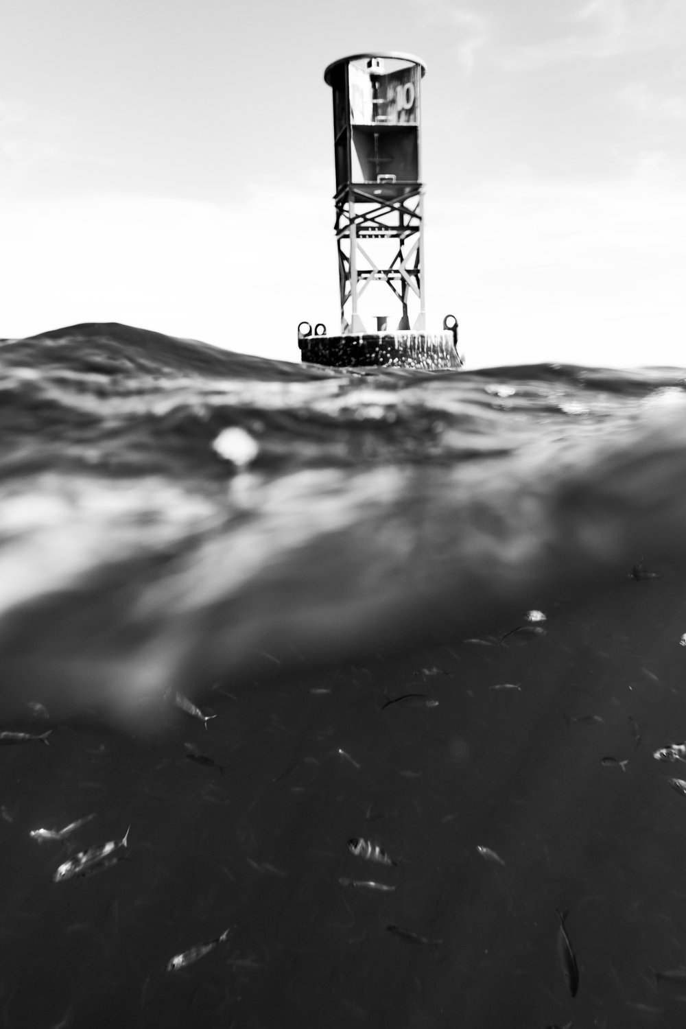Bethel Buoy of the coast of Ft Pierce, Florida. Photograph by Nathaniel Harrington