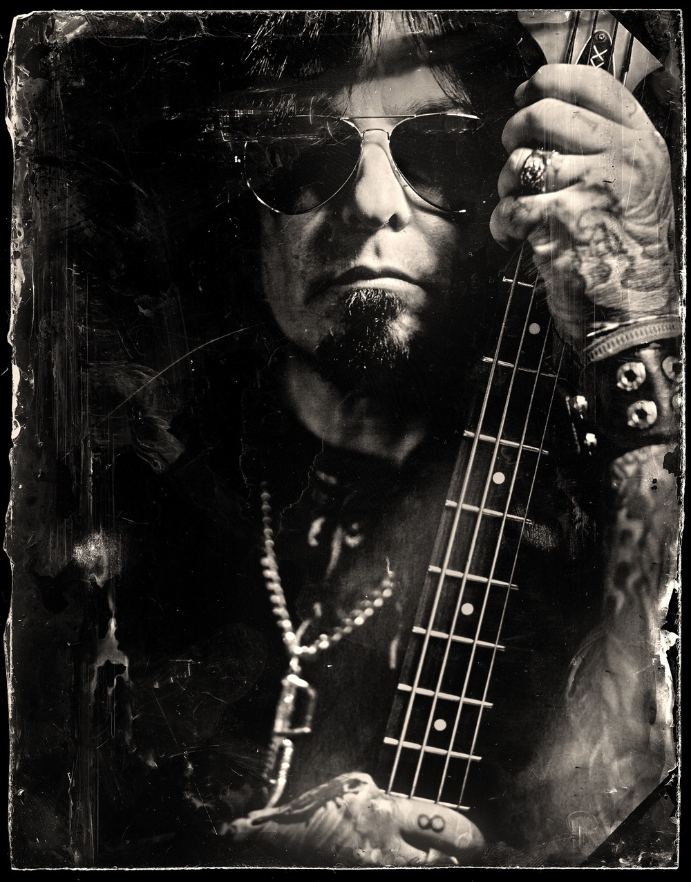 Nikki Sixx Wetplate