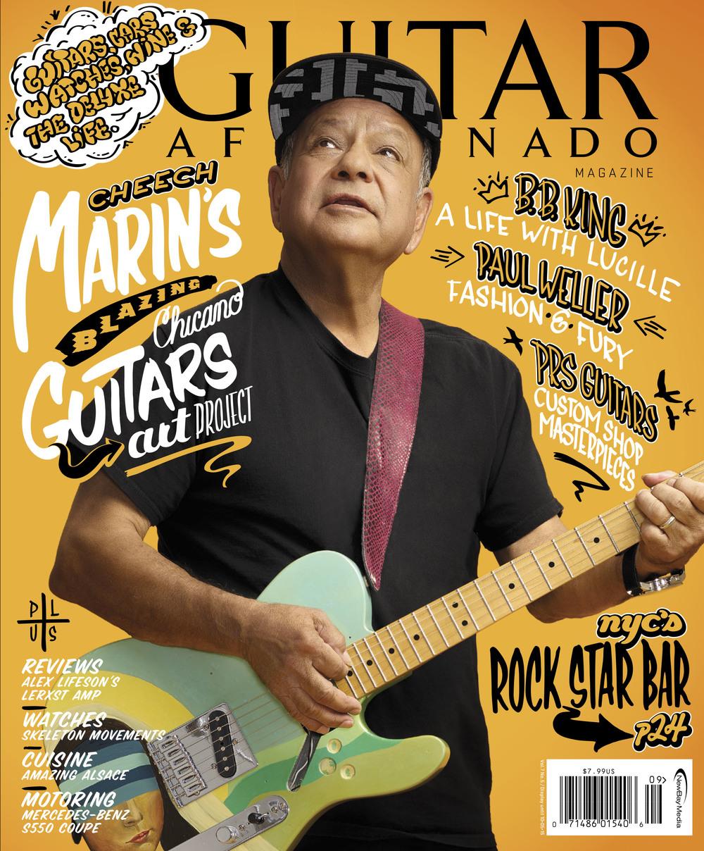 Guitar Aficionado featuring Cheech Marin