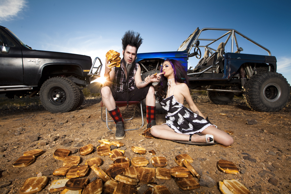 Wayne and Tera Static by Jeremy Danger