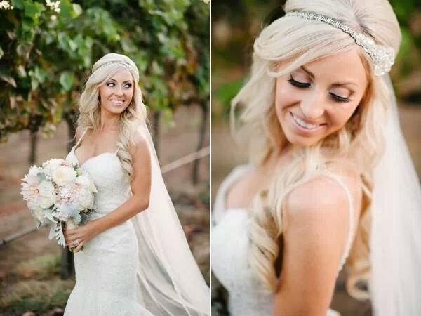 bohemian hippie bride. hair extensions