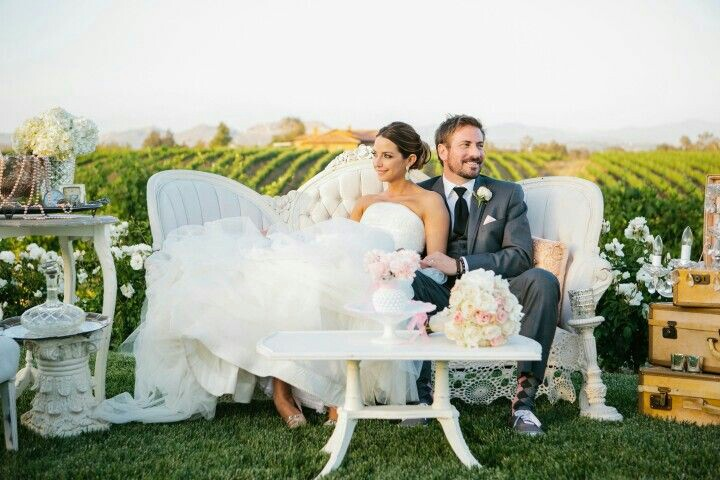 shabby chic winery wedding in temecula