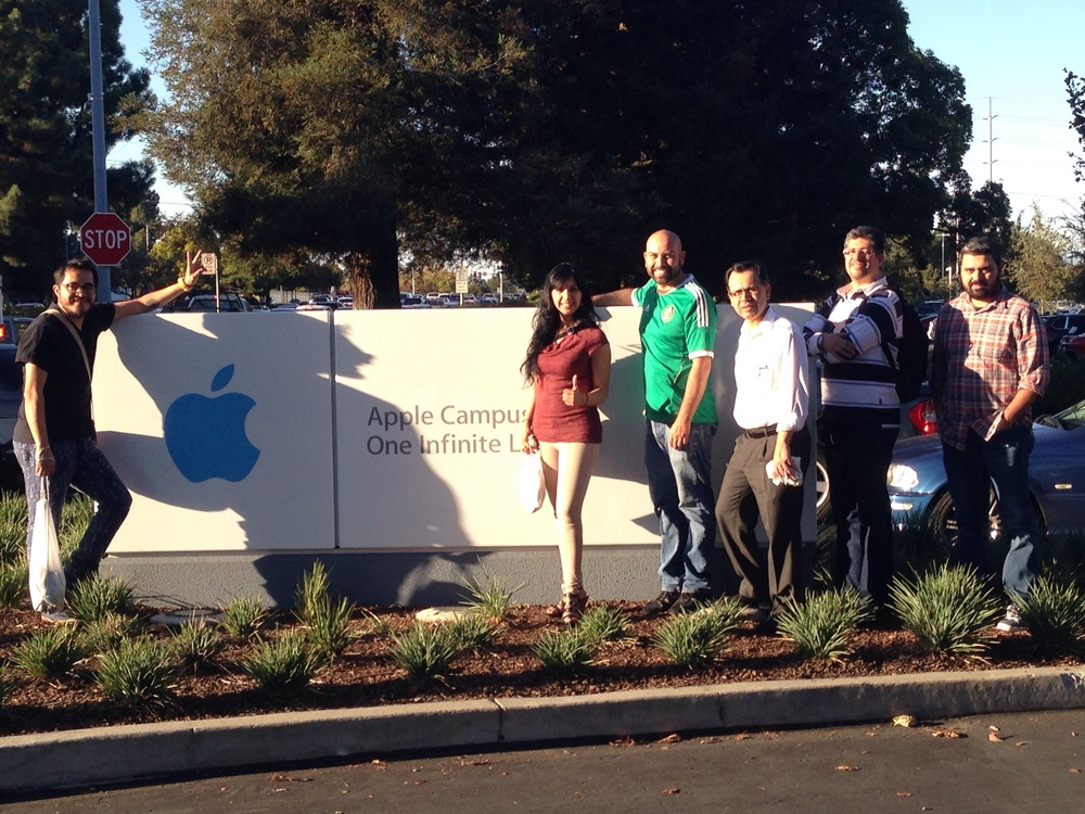 En oficinas de Apple