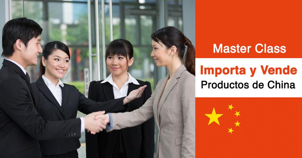 El mejor curso para importar y vender productos de China, con opción a viaje.
