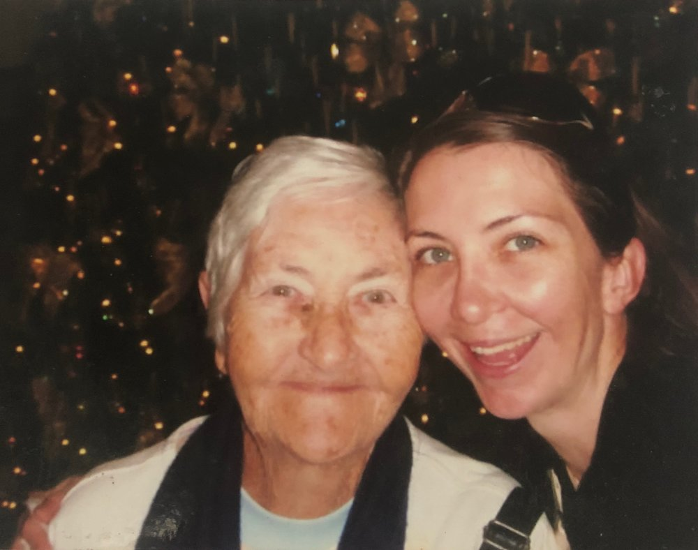 My amazing role model forever more, Gran and I circa 2003.