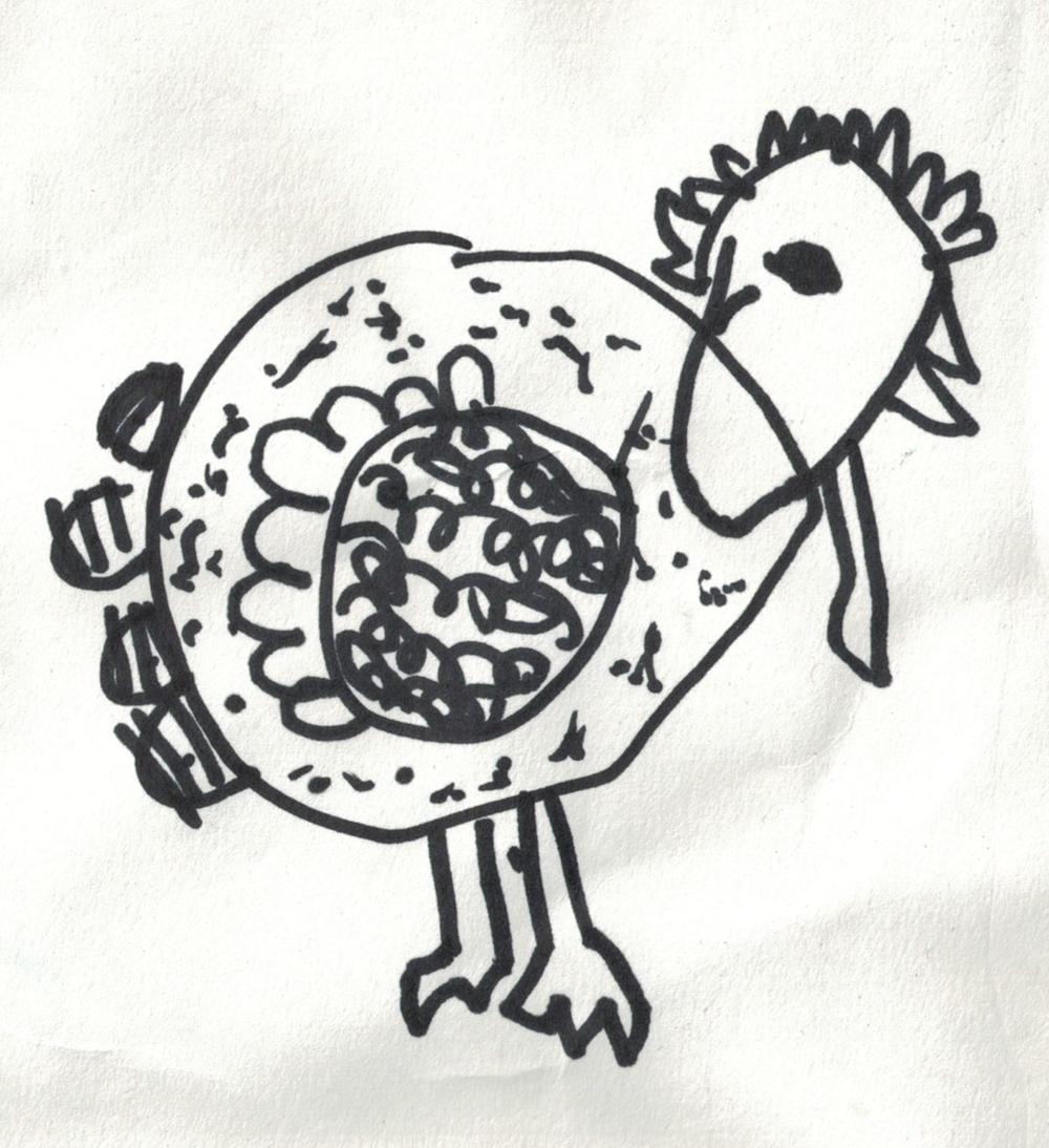 Drawing Credit: Bella Audette, Age 5