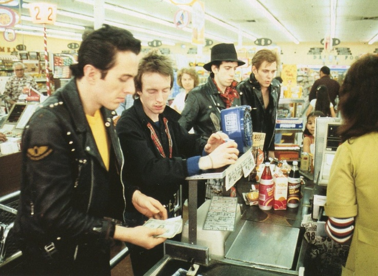 The Clash... in the Supermarket