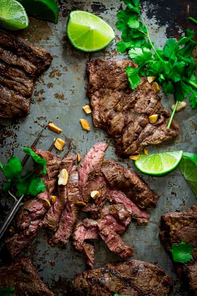 GRILLED THAI COCONUT STEAK