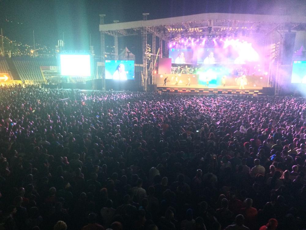 Machel Montano concert/Trinidad