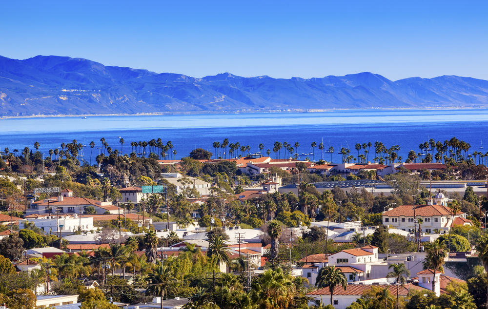Santa Barbara, in the beautiful Central Coast of California