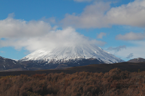 Anyone for one last parting shot of Mt. Ngauruhoe coated in nemesis clouds?