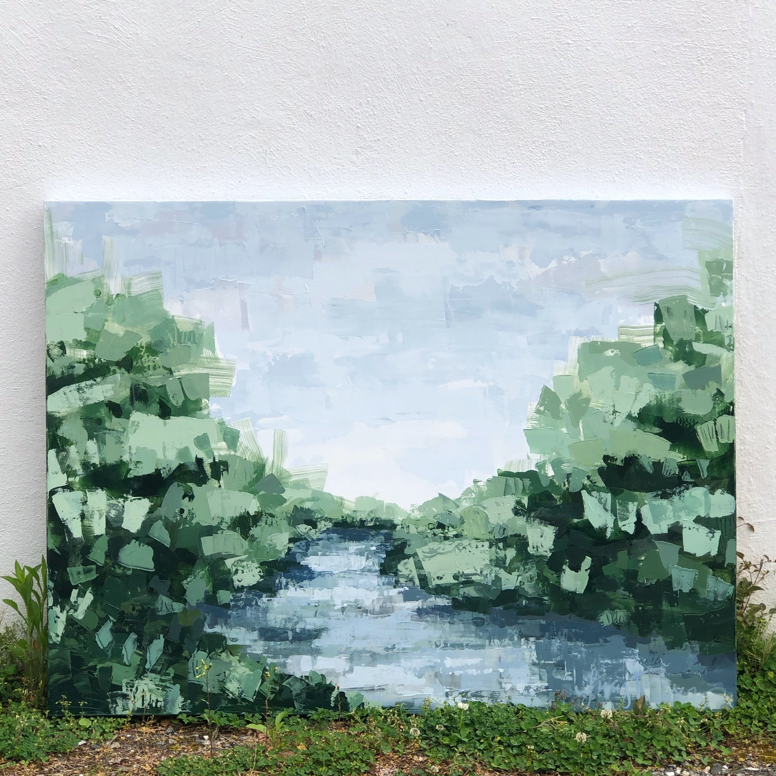 Sent off this river commission to her new home!