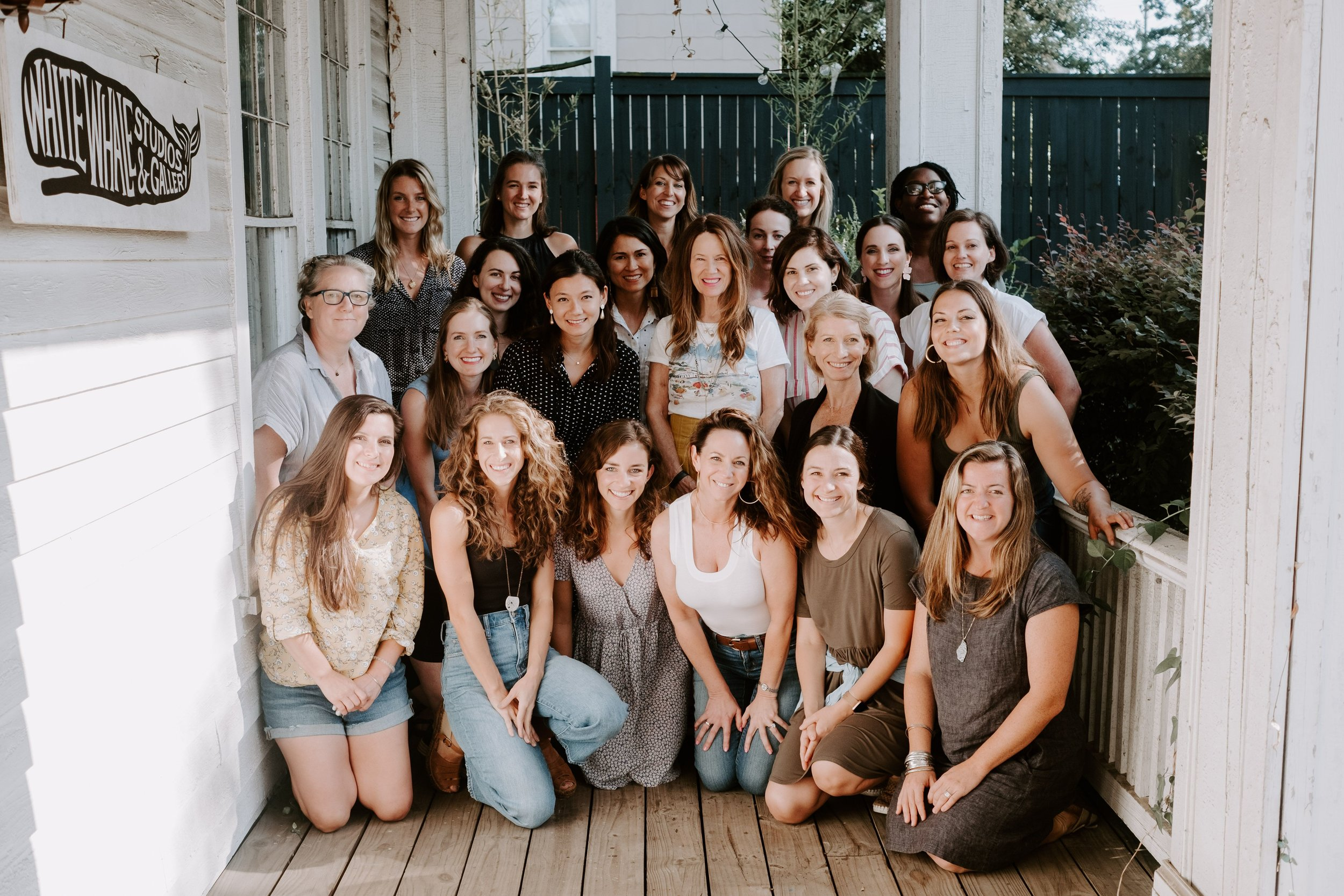 This little adventure was one for the books. I didn't realize quite what I was signing up for when I applied to  @emily_jeffords  mastermind a year ago, but I am extraordinarily grateful I did. Spending a year meeting with these brilliant women, learning from them, being challenged and encouraged by them, and growing together has been one of the most meaningful parts of my life as an artist so far. Being together in person this past week (which makes me laugh because I guess we technically all met on the internet) reminded me what a gift community is, in all parts of life. I am filled to the brim.