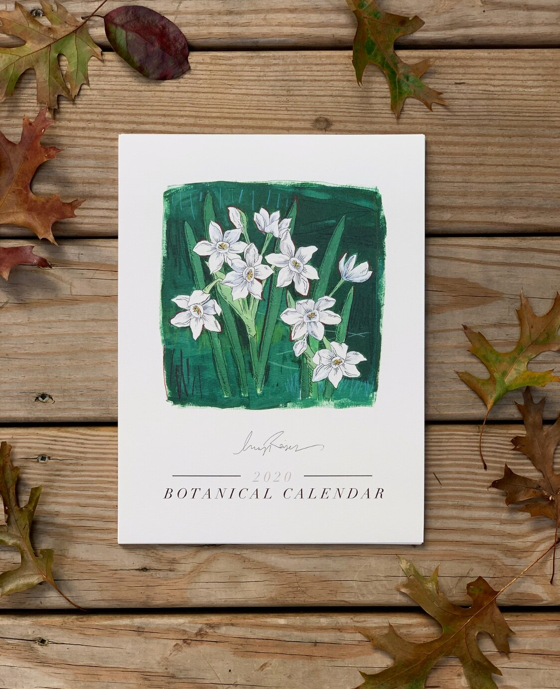 I released the 2020 Botanical Calendar! Order yours  HERE .
