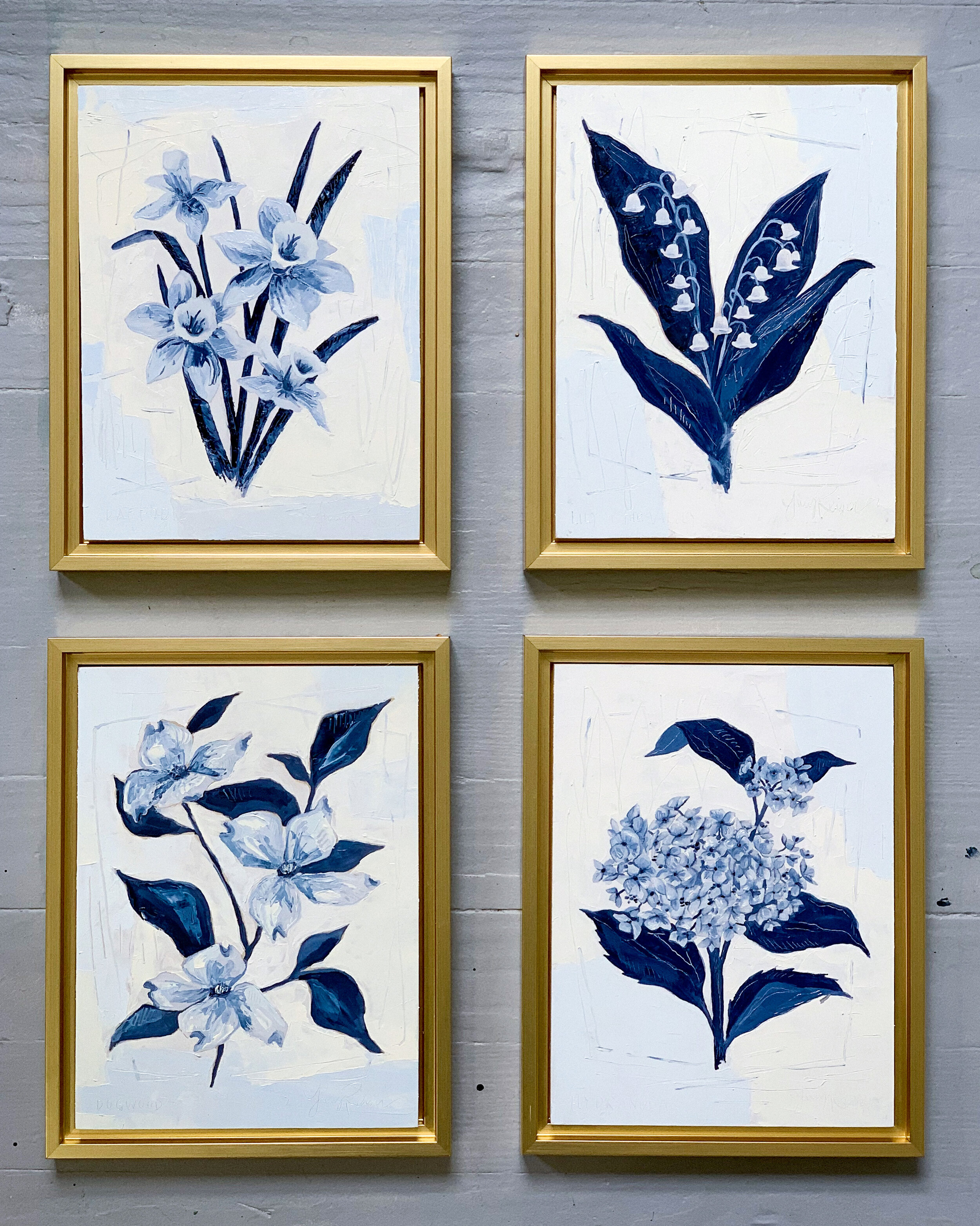 Shared the Blue Botanical collection with the world!