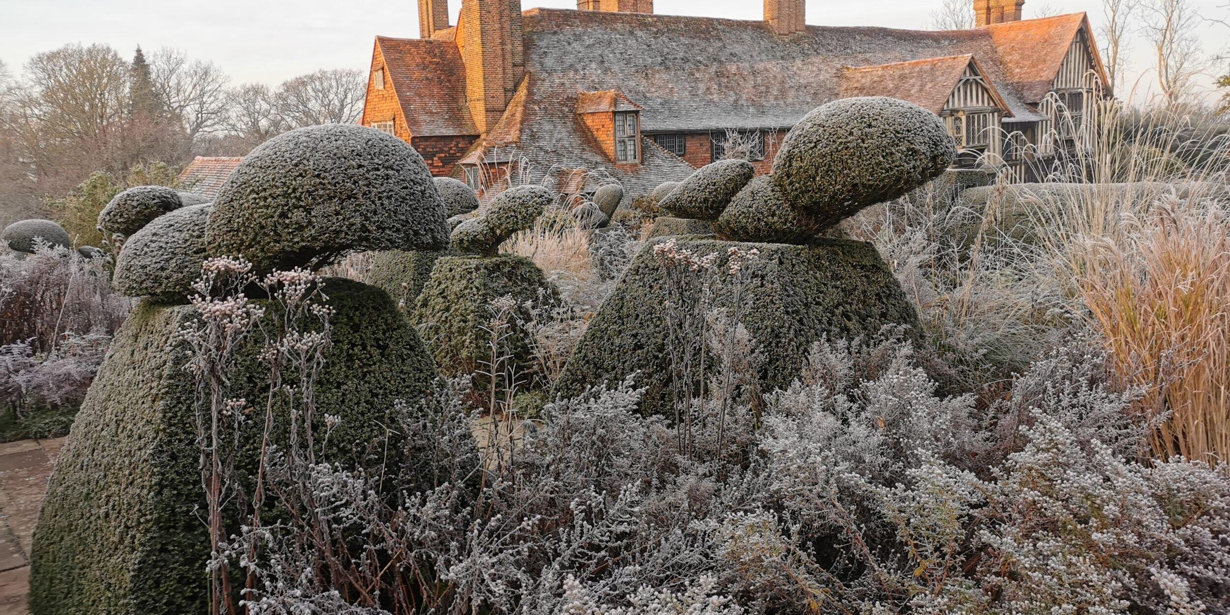 Great Dixter in winter