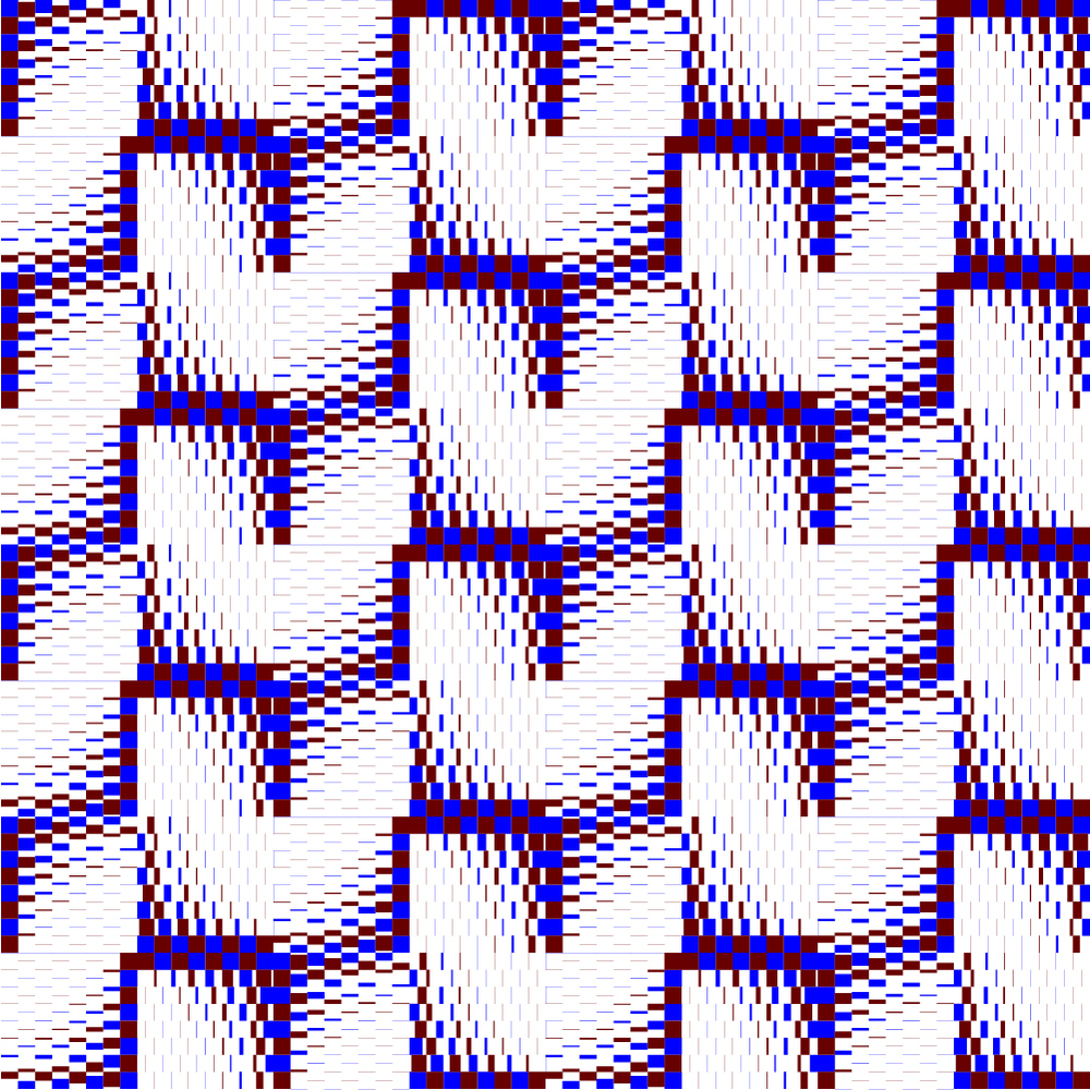 Reducing checkerboard.