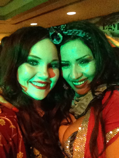 With Randa Kamel